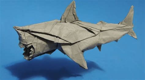Origami Great White Shark - 105 best origami images on origami diagrams