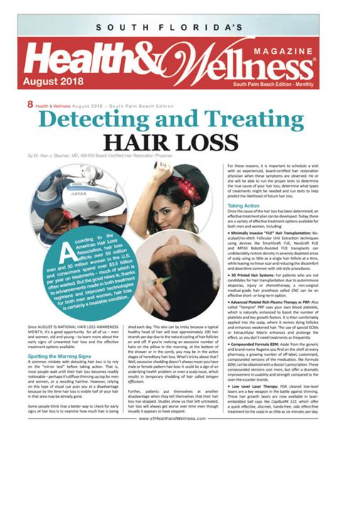 Loss Treat by Article How To Detect And Treat Hair Loss
