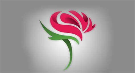 20 best rose flower logo design inspiration creativeherald