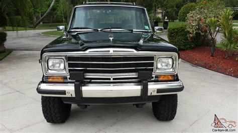 jeep wagoneer lifted 1989 jeep grand wagoneer 360 4x4 lifted amazing eye