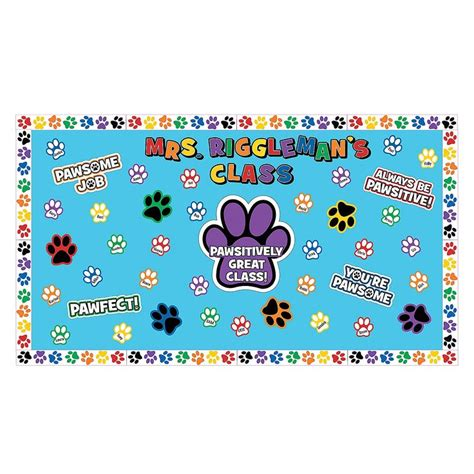 1000 Images About Paw Print On Pinterest Classroom Paw Print Classroom Decorations