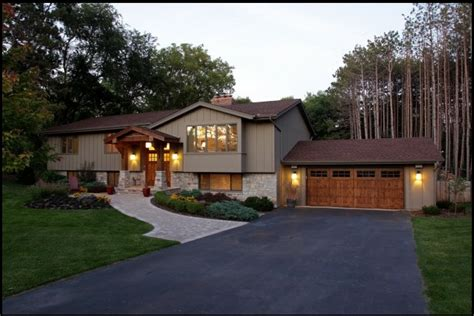 split level style house by construction design chanhassen minnesota