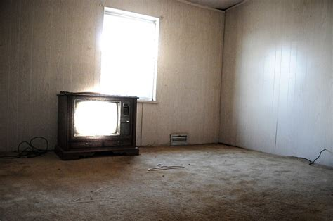 empty house empty house old tube tv light poltergeist rethinkgood com