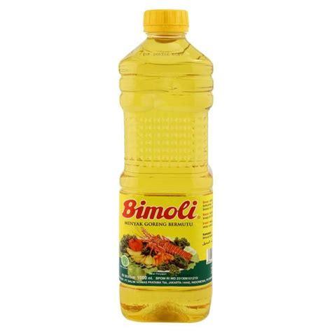 Minyak Goreng Refill 1 Liter jual bimoli minyak goreng 1 liter botol harga murah kota