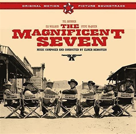 theme song magnificent seven release the magnificent seven by elmer bernstein