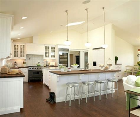 2 island kitchen plans for open kitchens conversion and redevelopment