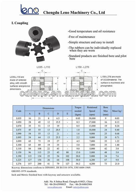 Rubber Coupling Fcl F4 insert l type lovejoy 075 rubber coupling buy coupling l coupling coupling