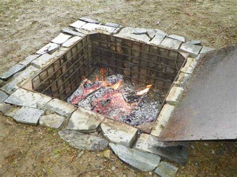 pit for cooking 25 best ideas about outdoor cooking area on