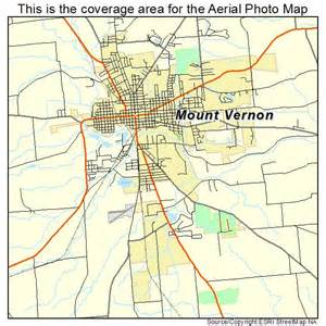aerial photography map of mount vernon oh ohio