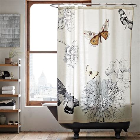 shower curtain butterfly shower curtain with butterfly pattern