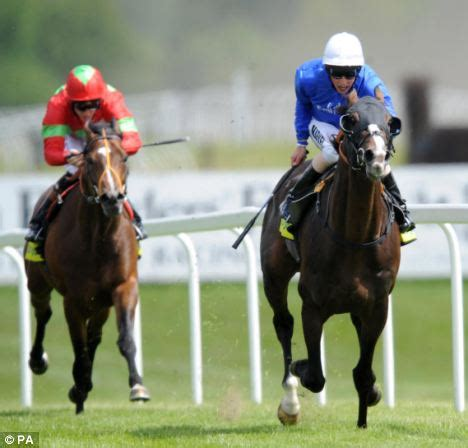 Bergo Cecile richard hughes so cool as paco boy makes amends in one lockinge stakes daily mail