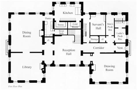 lynnewood hall floor plan conklin hall main floor servants mansion on lynnewood