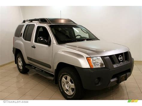2005 silver lightning metallic nissan xterra s 4x4 35354565 gtcarlot car color galleries