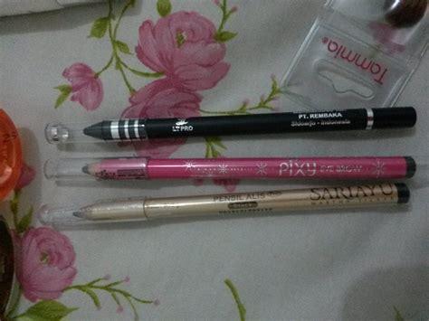 review eyeliner ltpro pensil alis sariayu dan pixy reymasu