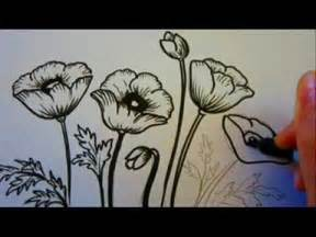 Wall Bubble Vase Flower Tutorial How To Draw Flowers Poppy Flowers