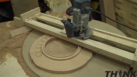 make woodworking jigs router jig bench top turn table izzyswan