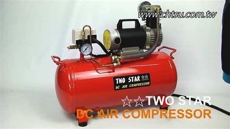 dc 24v air compressor for car test model ht25l 15a dc24v