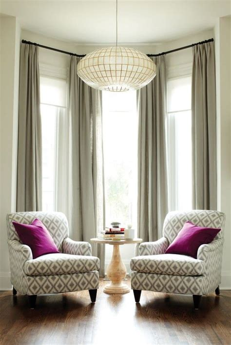 curtains for bay windows in living room 25 best ideas about living room chairs on pinterest
