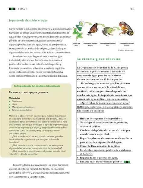 pag 114 de ciencias libro quinto grado naturales 2016 ciencias naturales quinto grado 2016 2017 libro de texto