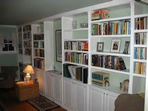 Build Built In Bookshelves How To Repair How To Build Built In Bookcases