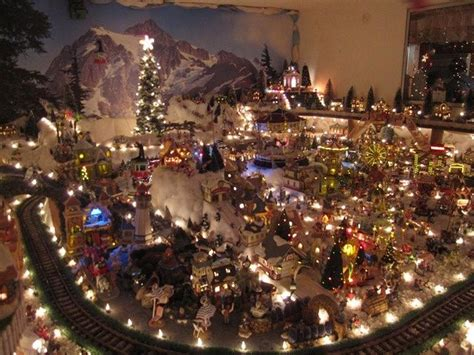 christmas village displays miniature christmas village