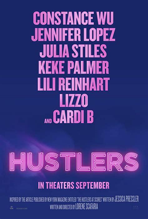 hustlers film font