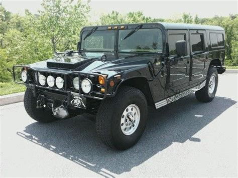 car engine manuals 1995 hummer h1 user handbook service manual how to syphon gas from a 1995 hummer h1 buy used 1995 hummer v8 gas h1 wagon