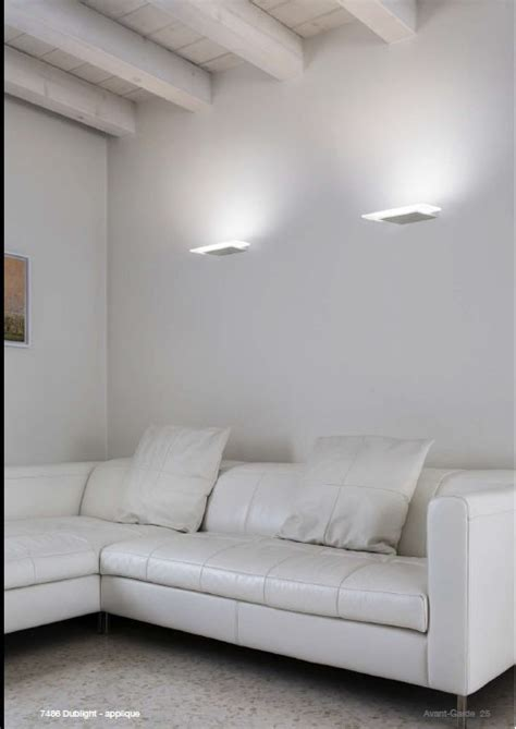 lade led a parete lade parete led lade da parete x interni applique dublight
