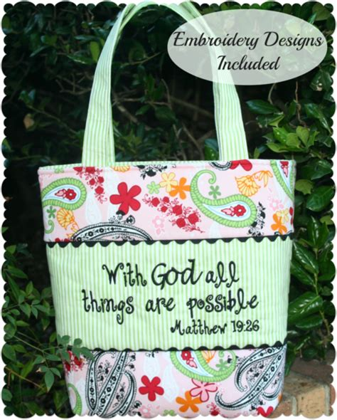 pattern for bible tote bag sewmichelle bible tote bag pattern with free embroidery