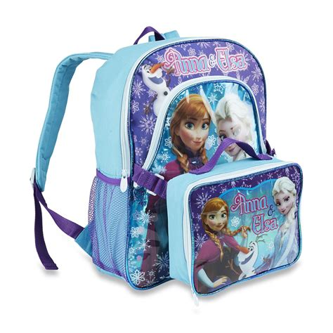 disney frozen s backpack lunch bag elsa