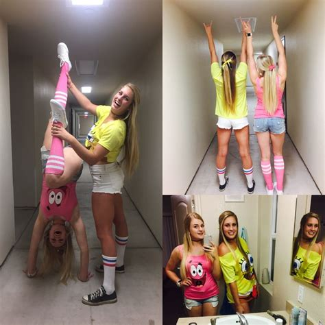 patrick  spongebob halloween costume  friends
