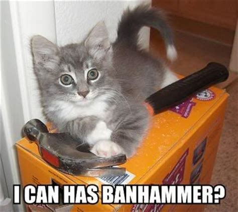 Ban Hammer Meme - image 65311 banhammer know your meme