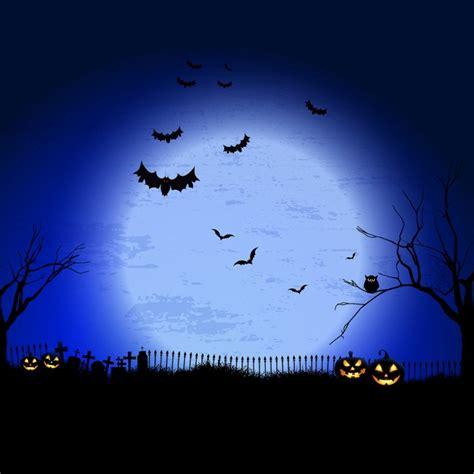 editor de imagenes halloween online spooky halloween landscape background vector free download