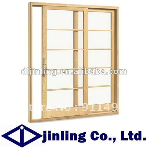 Hardwood Sliding Patio Doors Aliexpress Buy Balcony Sliding Wooden Patio Doors Wood Doors From Reliable Door Bmw