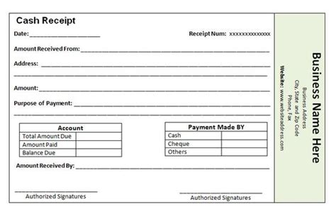 Layaway Payment Receipt Templates by The World S Catalog Of Ideas
