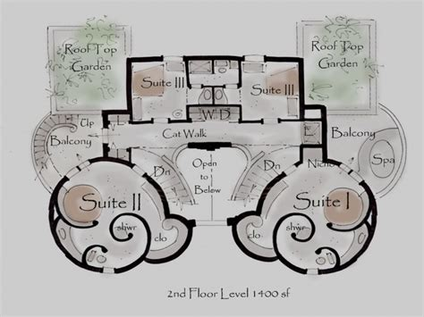 Modern Castle Floor Plans Using Stone | modern castle floor plans using stone