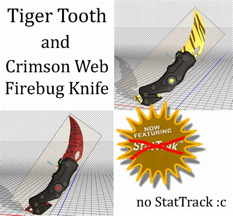 firebug tiger tooth crimson web knife killing floor 2 gt skins gt weapons gamebanana
