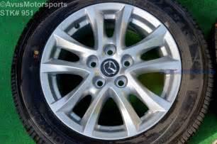 2016 mazda 3 oem 16 quot factory wheels yokohama avid s34