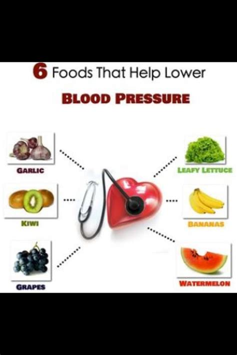 8 Foods That Will Lower Your Blood Pressure by 6 Foods That Help Lower Blood Pressure Health