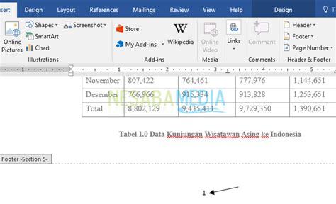 cara membuat nomor halaman diatas dan dibawah cara membuat nomor halaman di word untuk pemula 100 rapi