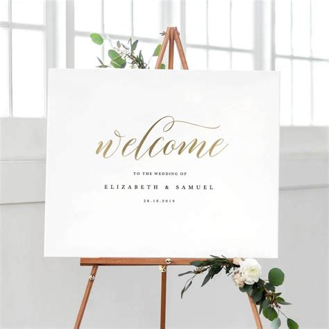 Welcome To Our Wedding Sign Template Printable Welcome Sign Wedding Welcome Sign Welcome Sign Welcome To Our Wedding Template Free