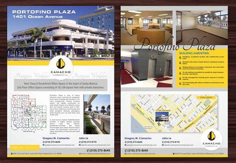 bold modern flyer design for camacho commercial real
