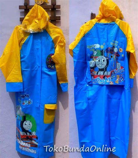 New Jas Hujan Anak Setelan jas hujan anak karakter toko bunda