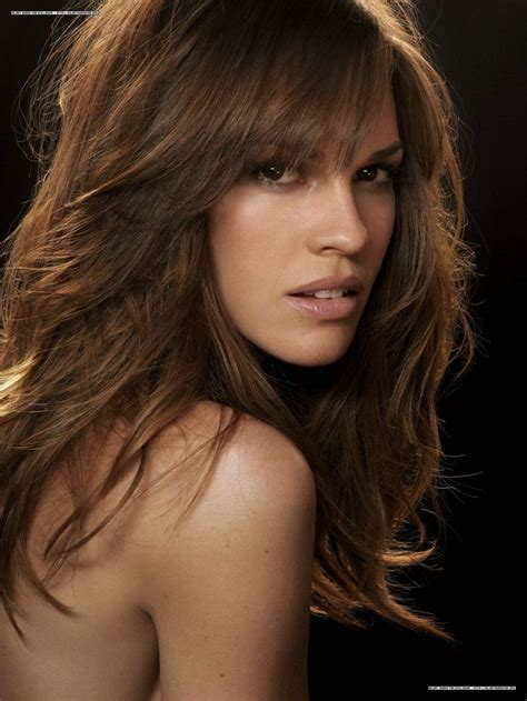 Hilary Swank Looks Great Until You Get To The by Hilary Swank Hilary Swank Media Galleries Hilary