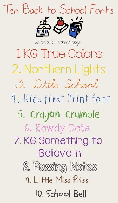 back to school lettering or school fonts fonts and back to school on pinterest