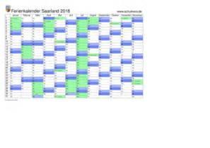 Kalender 2018 Saarland Schulkreis De Schulferien Kalender Saarland 2018 Feiertage