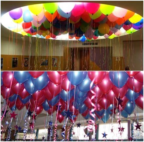como decorar con globos el techo decoraci 243 n con globos ejemplos de globos decorados