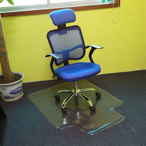 Non Slip Office Chair Mat by 1pc Pvc Anti Slip Carpet Protector Home Office Chair Mat Non Slip Frosted In Mat From Home