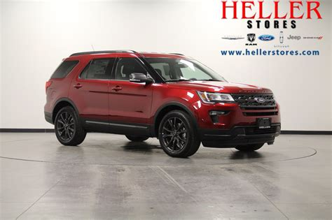 New Ford Explorer 2018 by New 2018 Ford Explorer Xlt Suv In El Paso 1800152