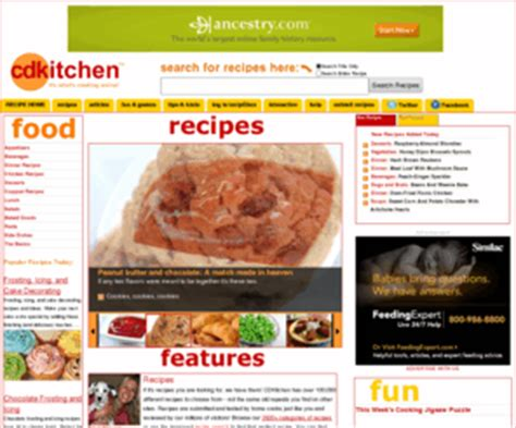 Cd Kitchen by Cdkitchen Recipes Copy Cat Recipes Delicious